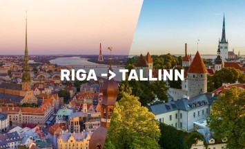 City break TALIN in RIGA